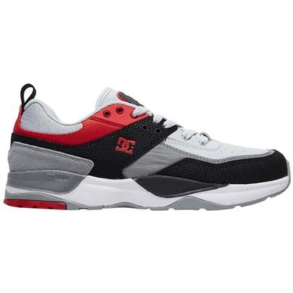 Tênis DC Shoes E. Tribeka Black Athletic Red Battlheship