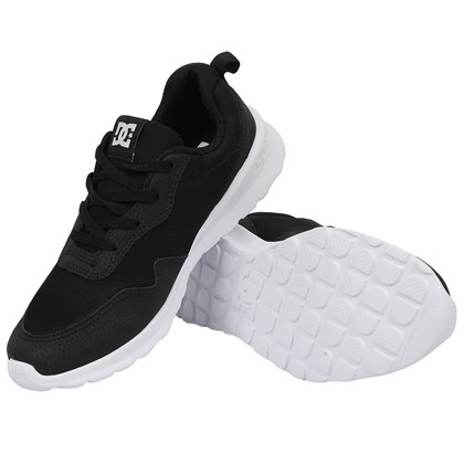 Tênis DC Shoes Hartferd Black White