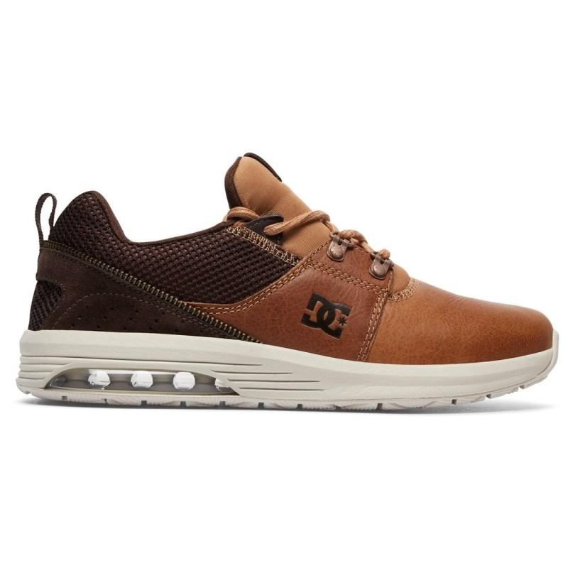 Tênis DC Shoes Heathrow IA LX Brown Dark Chocolate