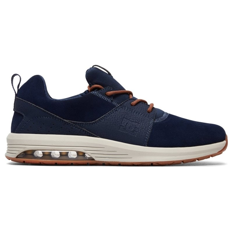 Tênis DC Shoes Heathrow IA Navy Camel