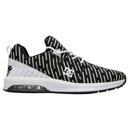Tenis DC Shoes Heathrow LA TX LE White Black