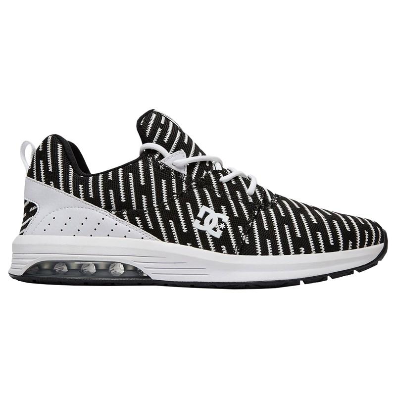 Tenis DC Shoes Heathrow LA TX LE White Black