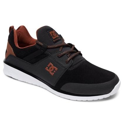 Tênis DC Shoes Heathrow Prestige Black Brown White