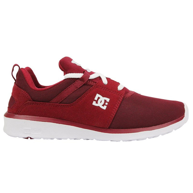 Tênis DC Shoes Heathrow Red White