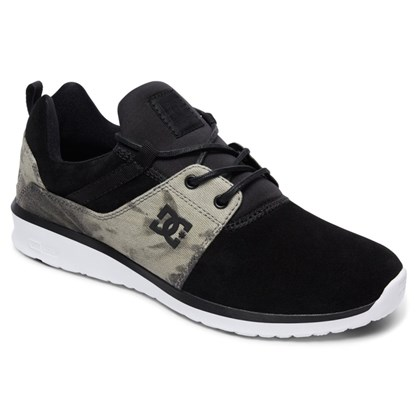 Tênis DC Shoes Heathrow SE Black Destroy Wash
