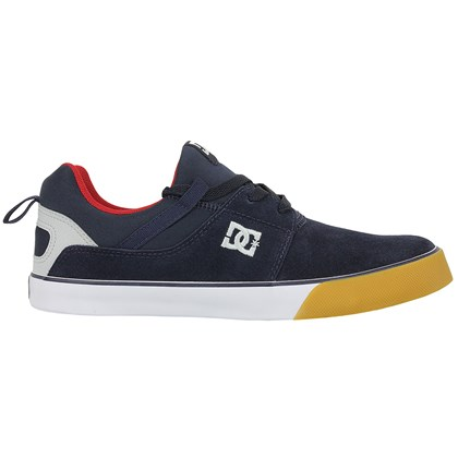 Tênis DC Shoes Heathrow Vulc Navy Grey