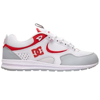 Tênis DC Shoes Kalis Lite White Grey Red
