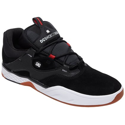 Tênis DC Shoes Kalis S Black White Red
