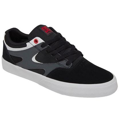 Tênis DC Shoes Kalis Vulc Grey Heather White