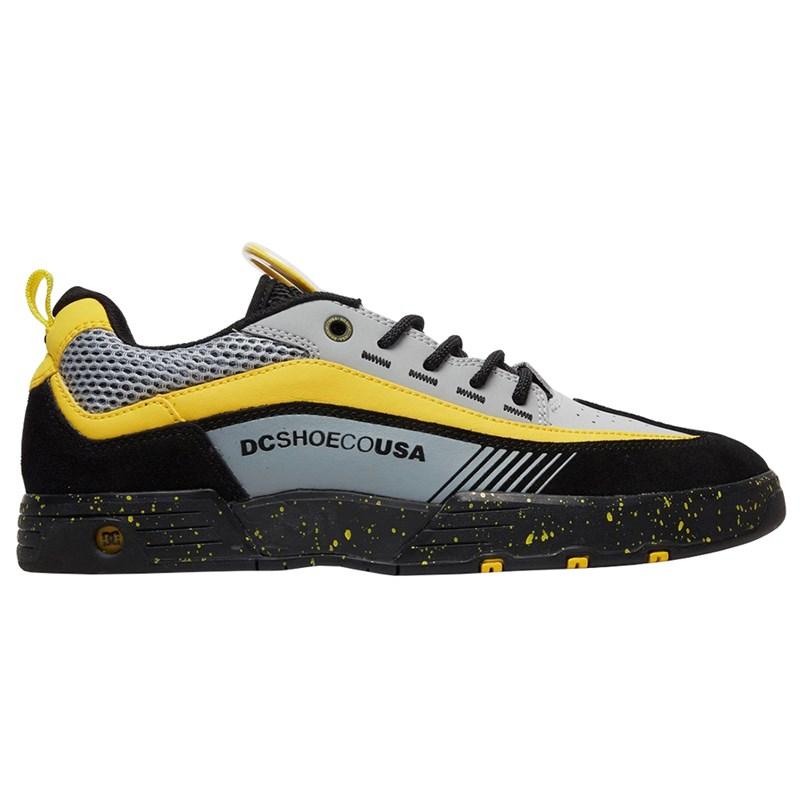 Tênis DC Shoes Legacy 98 Slim SE Black Grey Yellow