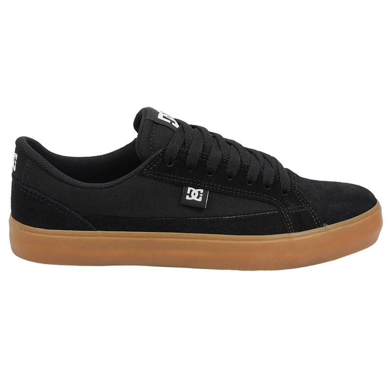 Tênis DC Shoes Lynnfield Black Gum - Surf Alive 5c1ef6e6c0bf0