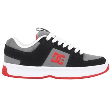 Tênis DC Shoes Lynx Zero Black Grey Red