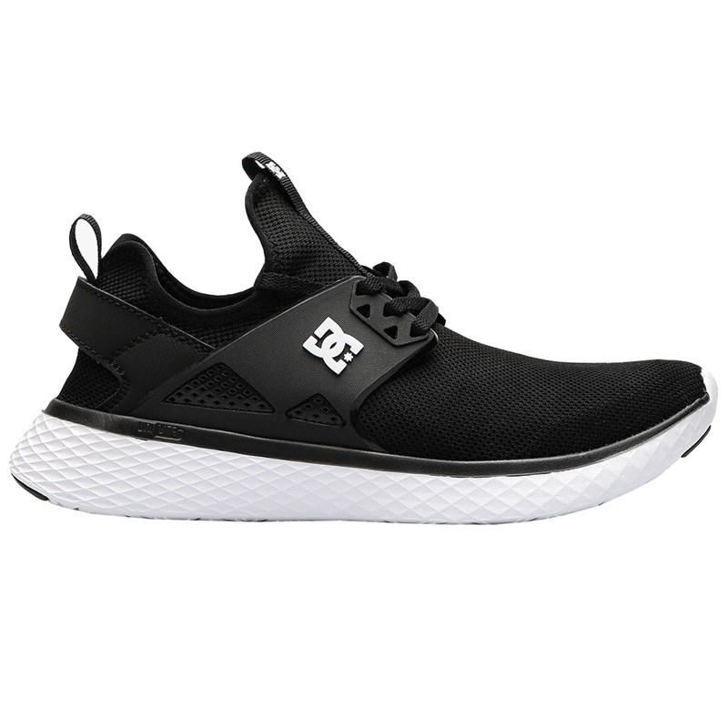 Tênis DC Shoes Meridian Black White