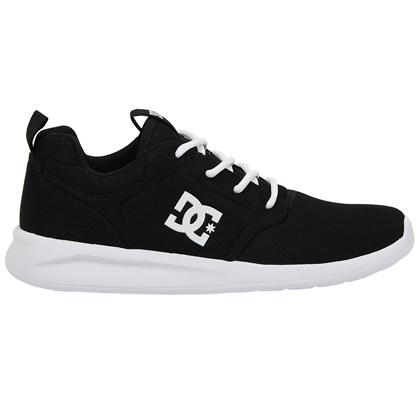 Tênis DC Shoes Midway Black White