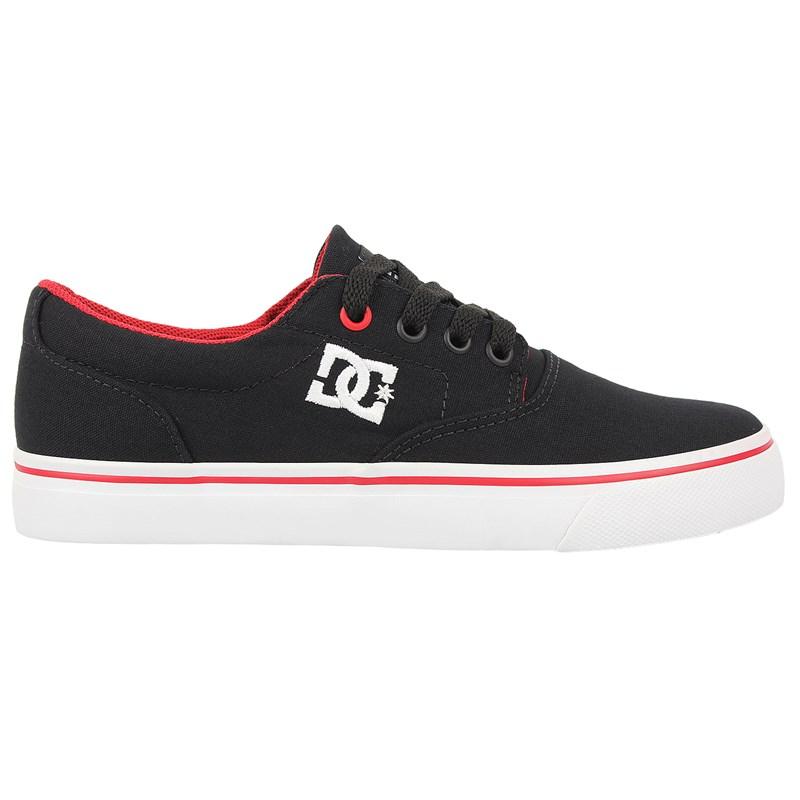 Tênis DC Shoes New Flash 2 TX Black Red