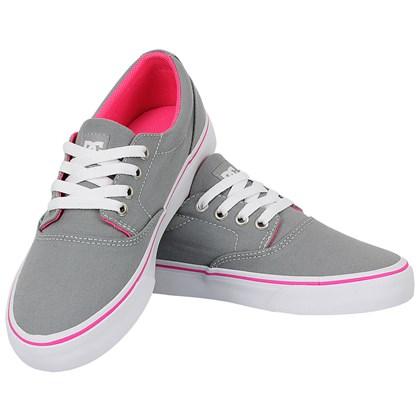Tênis DC Shoes New Flash 2 TX Light Grey