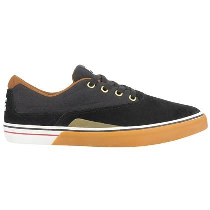 Tênis DC Shoes Sultan S Black White Gum