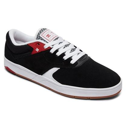 Tênis DC Shoes Tiago S Black Red