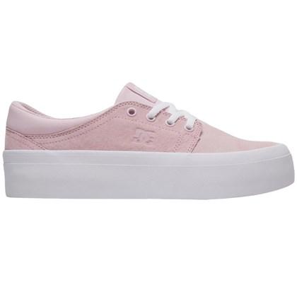 Tênis DC Shoes Trase Plataform SE Rose