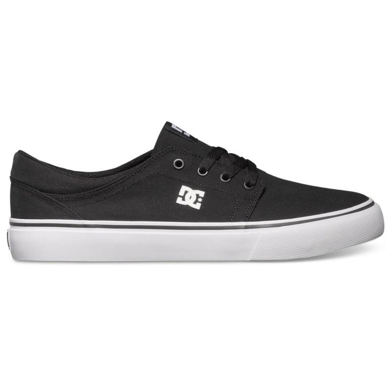 Tênis DC Shoes Trase TX Black White  09e4f8f7c152c