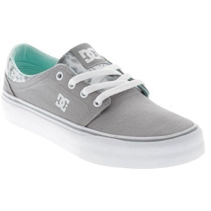 Tênis DC Shoes Trase TX W Feminino Grey Feather Camo