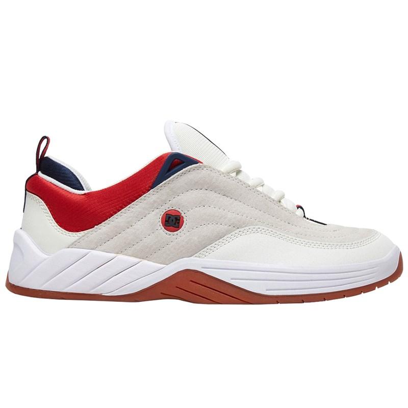 Tênis DC Shoes Williams Slim S White Navy Red