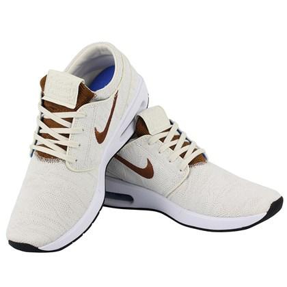 Tênis Nike SB Air Max Janoski 2 Pale Ivory British Tan