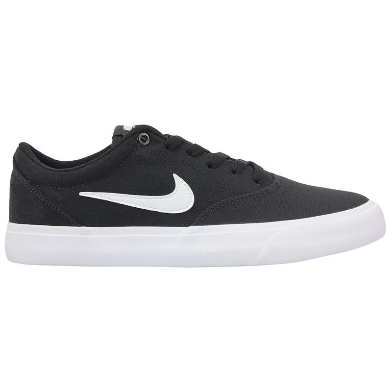 Tênis Nike SB Charge Canvas Black White