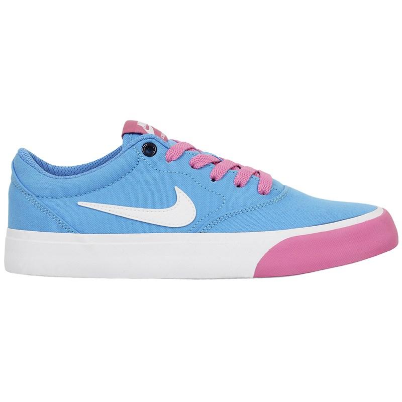 Tênis Nike SB Charge Canvas University Blue White