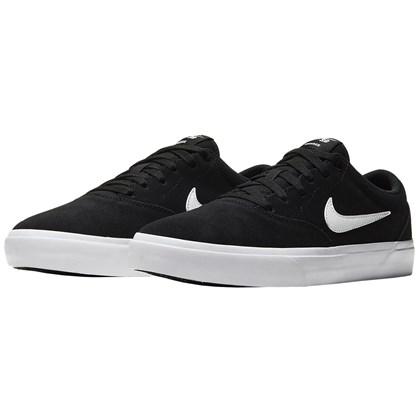 Tênis Nike SB Charge Suede Black White Black