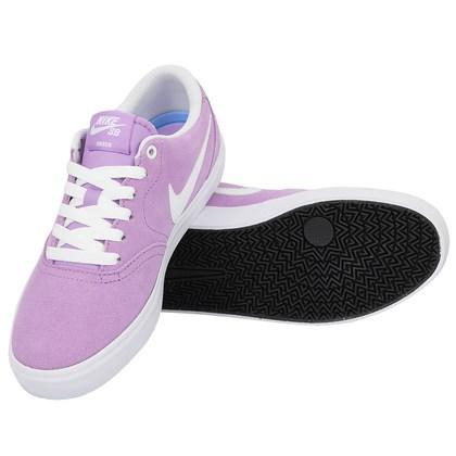 Tênis Nike SB Check Solarsoft Violet Star White