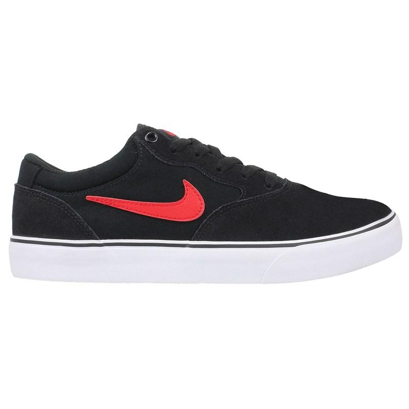 Tênis Nike SB Chron 2 Black University Red Black