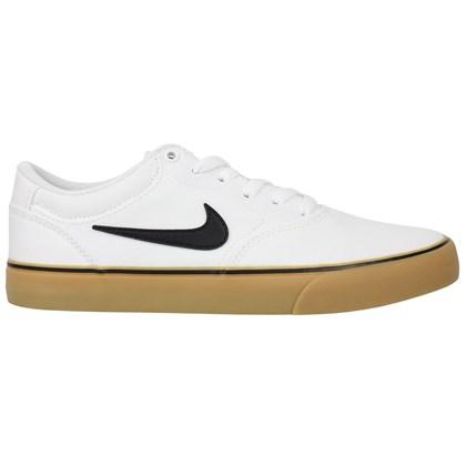 Tênis Nike SB Chron 2 Canvas White Black