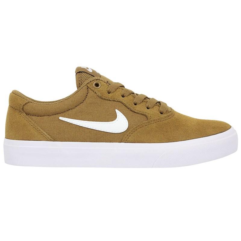 Tênis Nike SB Chron Solarsoft Golden Beige White