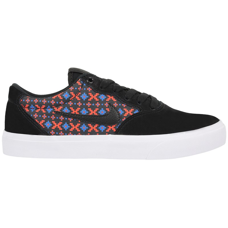 Tênis Nike SB Chron Solarsoft Premium Black Bright Crimson