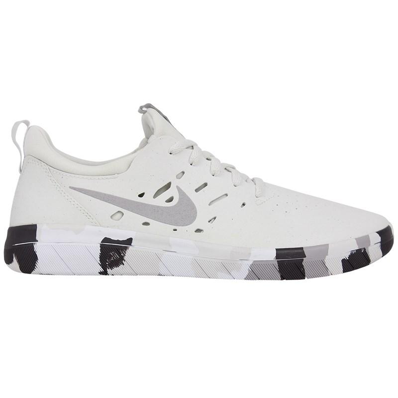 Tênis Nike SB Nyjah Free Premium Platinum Grey