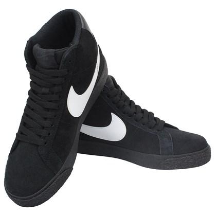 Tênis Nike SB Zoom Blazer Mid Black Black