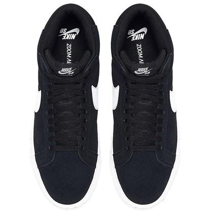 Tênis Nike SB Zoom Blazer Mid Black White