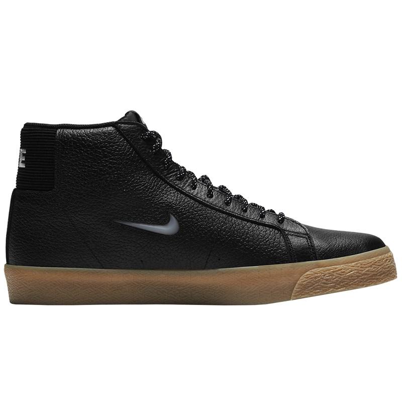 Tênis Nike SB Zoom Blazer Mid Premium Black White Black