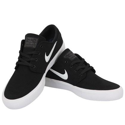Tênis Nike SB Zoom Janoski Canvas RM Black White Thunder