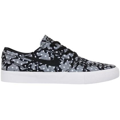 Tênis Nike SB Zoom Janoski Canvas RM Black White Vast Grey Noir