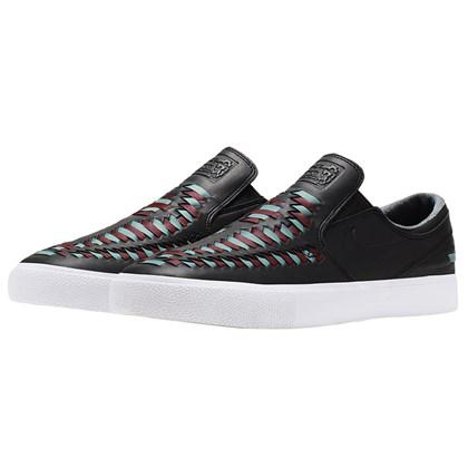 Tênis Nike SB Zoom Janoski Slip RM Crafted Black Bicoastal