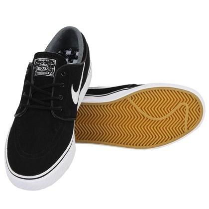 Tênis Nike SB Zoom Stefan Janoski OG Black White Gum