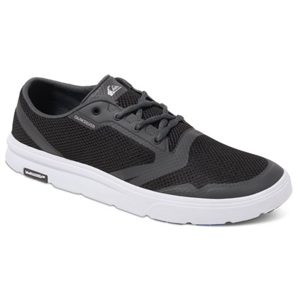 Tênis Quiksilver Amphibian Plus Black Grey White