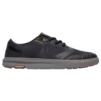 Tênis Quiksilver Amphibian Plus Grey Grey Orange