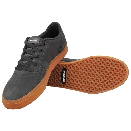 Tênis Quiksilver New Wave Dark Grey Gum