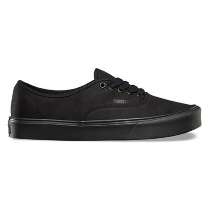 Tênis Vans Authentic Lite Canvas Black Black