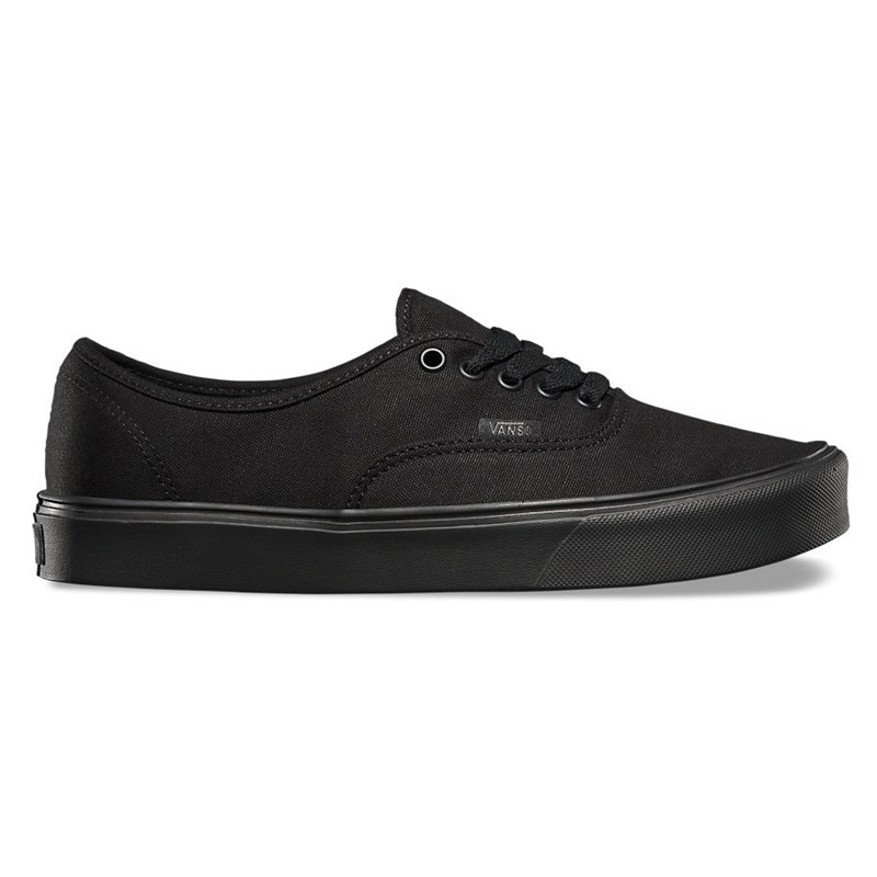 Tênis Vans Authentic Lite Canvas Black Black
