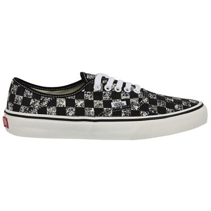 Tênis Vans Authentic SF Distressed Checkerboard Black