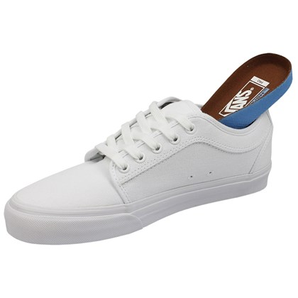 Tênis Vans Chukka Low 10 Oz Canvas White White